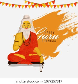 Guru purnima (Guru Purnima is a Nepalese and Indian festival dedicated to spiritual and academic teachers)