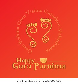Guru Purnima vector illustration for honouring the teachers. Creative concept design for banners, backgrounds, template, cards and print.