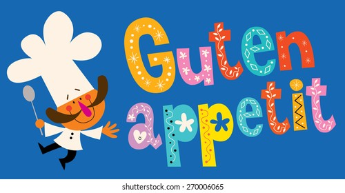 Guten Appetit Images Stock Photos Vectors Shutterstock