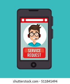 guy operator call center service request online
