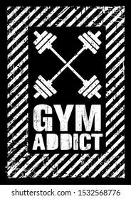 Gym Addict Images Stock Photos Vectors Shutterstock