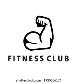 Gym and fitness logo template retro emblem and icon