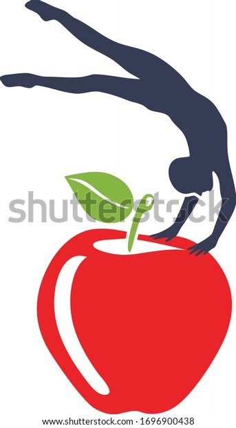 gymnast-balancing-on-apple-symbol-600w-1