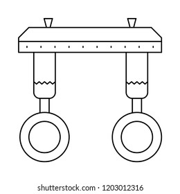 gymnastic  ring  athelete