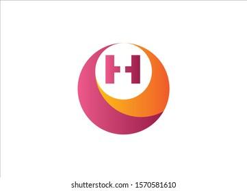 H Letter logo Design minimalist logo