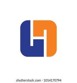 H letter logo design vector template