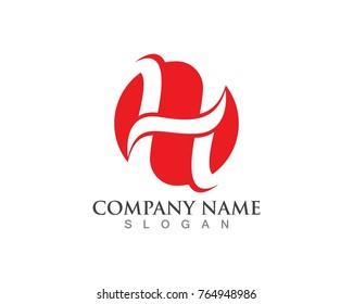 H Letter Logos Template