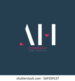 A H logo design for Corporate