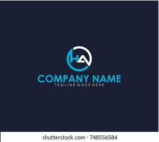 HA vector logo
