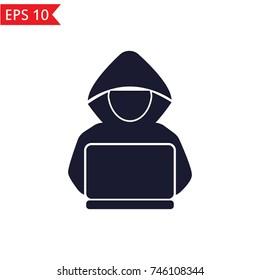 Hacker icon Vector.