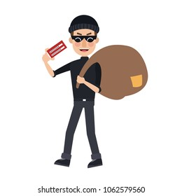 Hacker with password