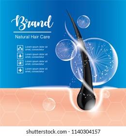 Hair Care , cosmetics concept