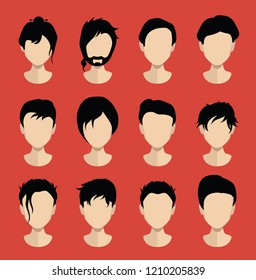 Hair, haircut,hairstyle collection 3