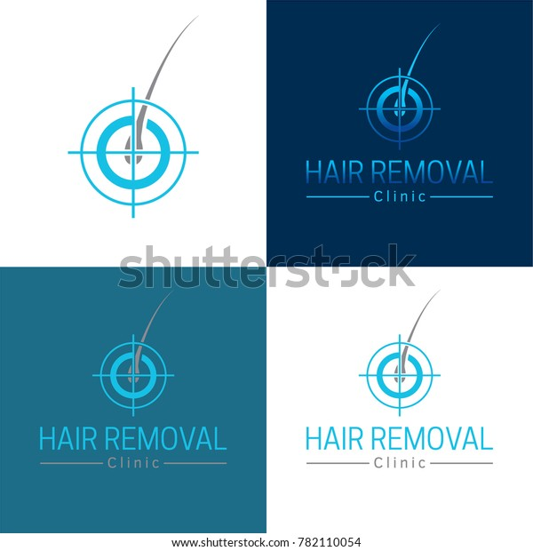 Hair Removal Logo Icon Vector Illustration Stock Vector  Royalty Free  782110054