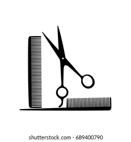 Hair salon icon set vector illustration.