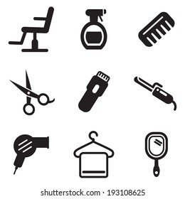 Hair Salon Icons