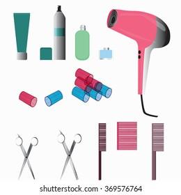 hair style equipment set