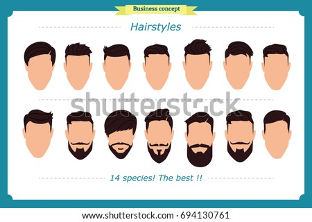 Hair Styling Vector Illustration Isolated On Stock Vector Royalty