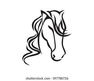 Hairy Head Horse