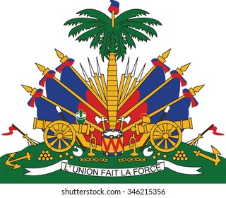 Haiti Coat of arm