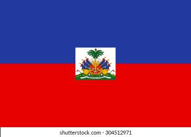 Haiti flag vector