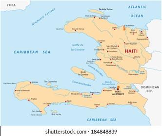 Haiti Map Images, Stock Photos & Vectors | Shutterstock