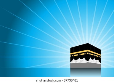 Hajj/ Pilgrimage Background 2-vector