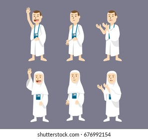 Hajj Pilgrimage Character