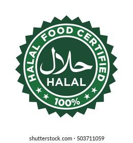 halal food logo.