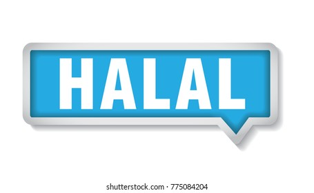 halal label, tag, mark, sign