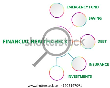half circle inflographic financial template 5 stock vector royalty