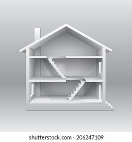 3d Model Houses Stock Vectors, Images & Vector Art | Shutterstock