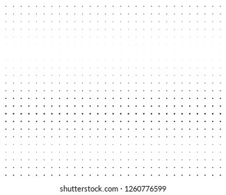 Halftone background. Comic style. Abstract geometric pattern with small squares. Design element for web banners, posters, cards, wallpapers, backdrops, panels Black and white color Vector illustration