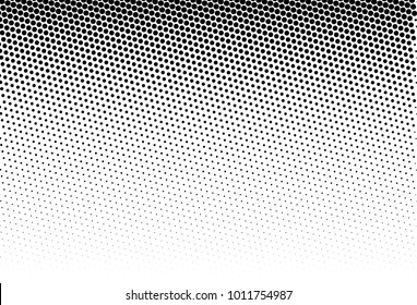 Halftone background. Digital gradient. Dotted pattern with circles, dots, point small scale. Design element for web banners, posters, cards, wallpapers, sites, panels.