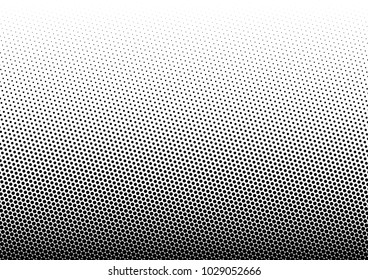Halftone Background. Fade Dotted Overlay. Gradient Pop-art Backdrop. Modern Pattern. Vector illustration