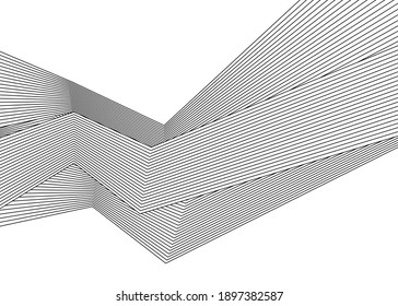 Halftone bitmap lines retro background Black and White. optical art wavy background. abstract waves black and white line stripes.black and white wave stripe optical abstract design.