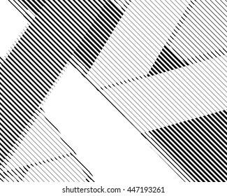 Halftone bitmap lines retro background Black and White