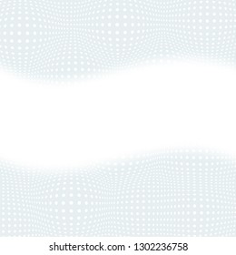 Halftone designed abstract backdrop. Blue Dotted vector background. Vector template for graphic and web designs