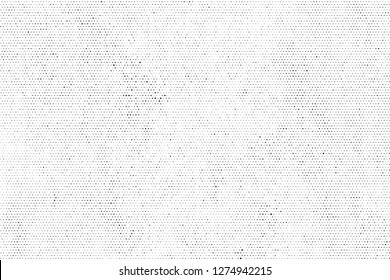 Halftone designed grunge texture. Vintage vector background with place for text or image.