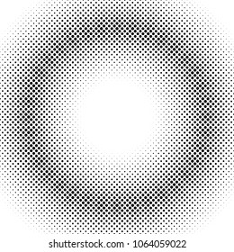 Halftone dot pattern background design - abstract vector graphic design