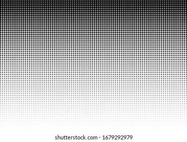 Halftone Dots Background. Abstract Pop-art Overlay. Gradient Texture. Modern Pattern. Vector illustration