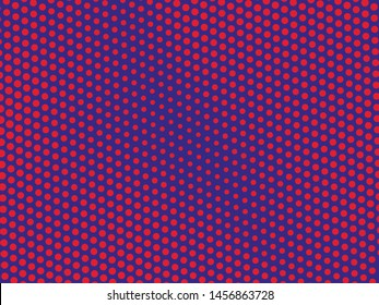 Halftone dotted background. Pop art style. Retro pattern with circles, dots, design element for web banners, posters, cards, Wallpaper, backdrops, sites. Vector illustration