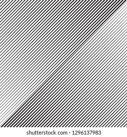 Halftone gradient line pattern background