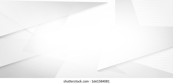 Halftone Minimal Gray Vector Background. Modern Faded Banner. Halftone Wallpaper. Edgy Tile. Grain Pattern. Pop Art Light Dots Texture. Geometric Dots Texture. Gray White Shade Page. Geo Lines Shape - Shutterstock ID 1661584081
