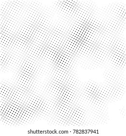 Halftone pattern, abstract background texture, vector overlay print, black and white grunge background