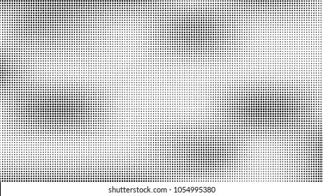 Halftone pattern. Gradient halftone dots background. Vector illustration.