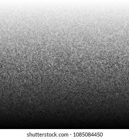 halftone, pointillism pattern - Irregular dots abstract monochrome halftone. vector illustration