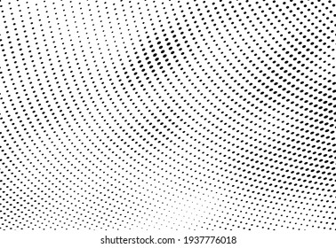 The halftone texture is monochrome. Vector chaotic background