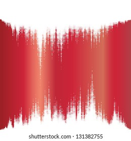Halftone vector elements. Magic sound waves. Music square waveform drop background. You can use in game, club, radio, pub, party, DJ,concerts, recitals or the skyline city  background.