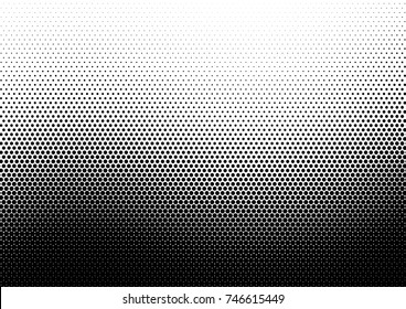 Halftone wave background. Curved gradient texture or pattern. Vector illustration.